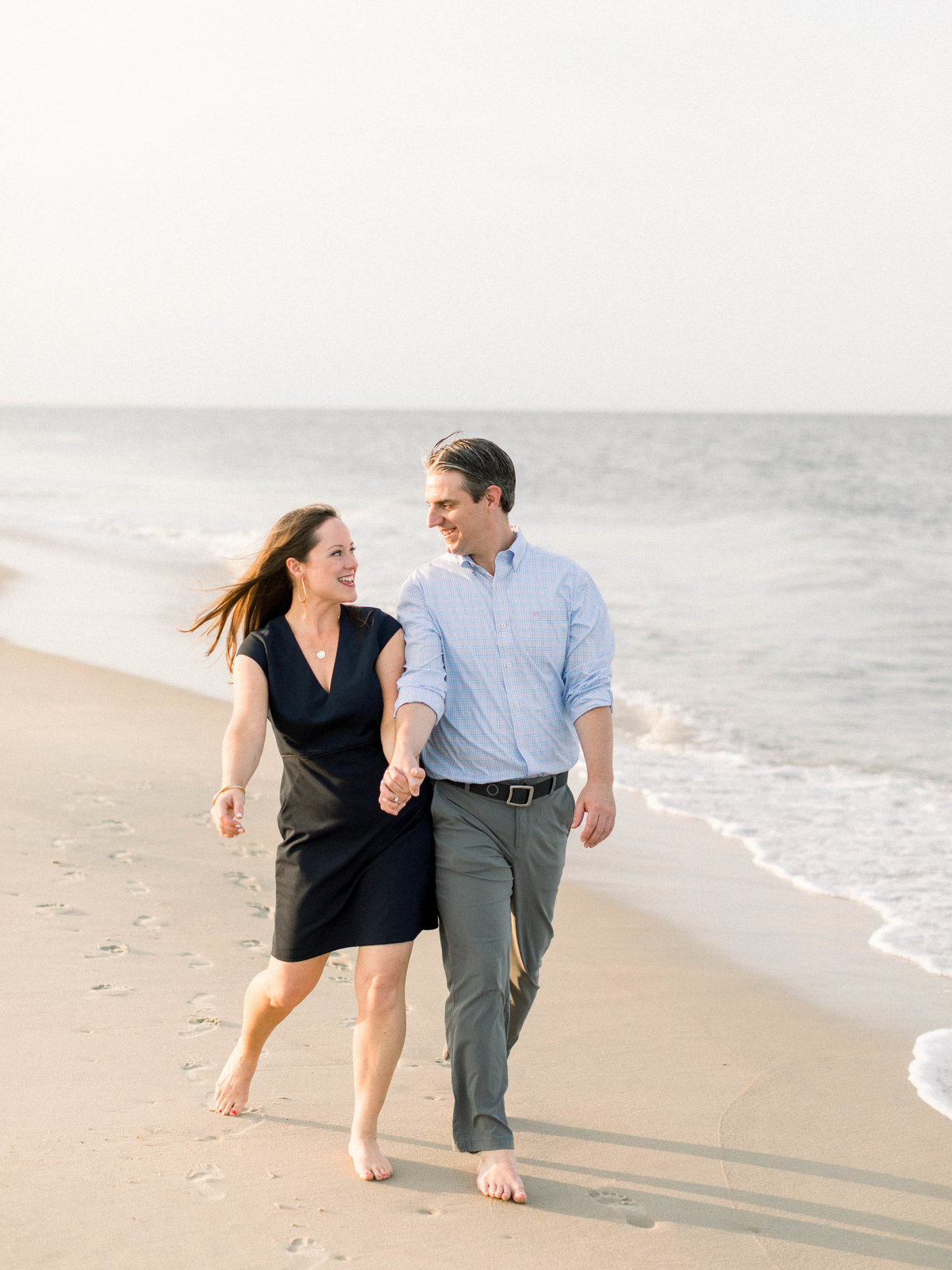 delaware beach wedding photographer, lewes beach engagement photos, delaware fine art wedding photographer-95