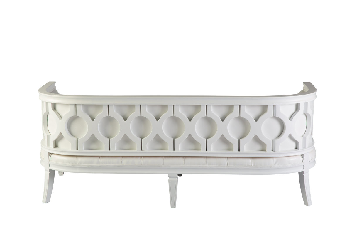 White Palermo Sofa 2