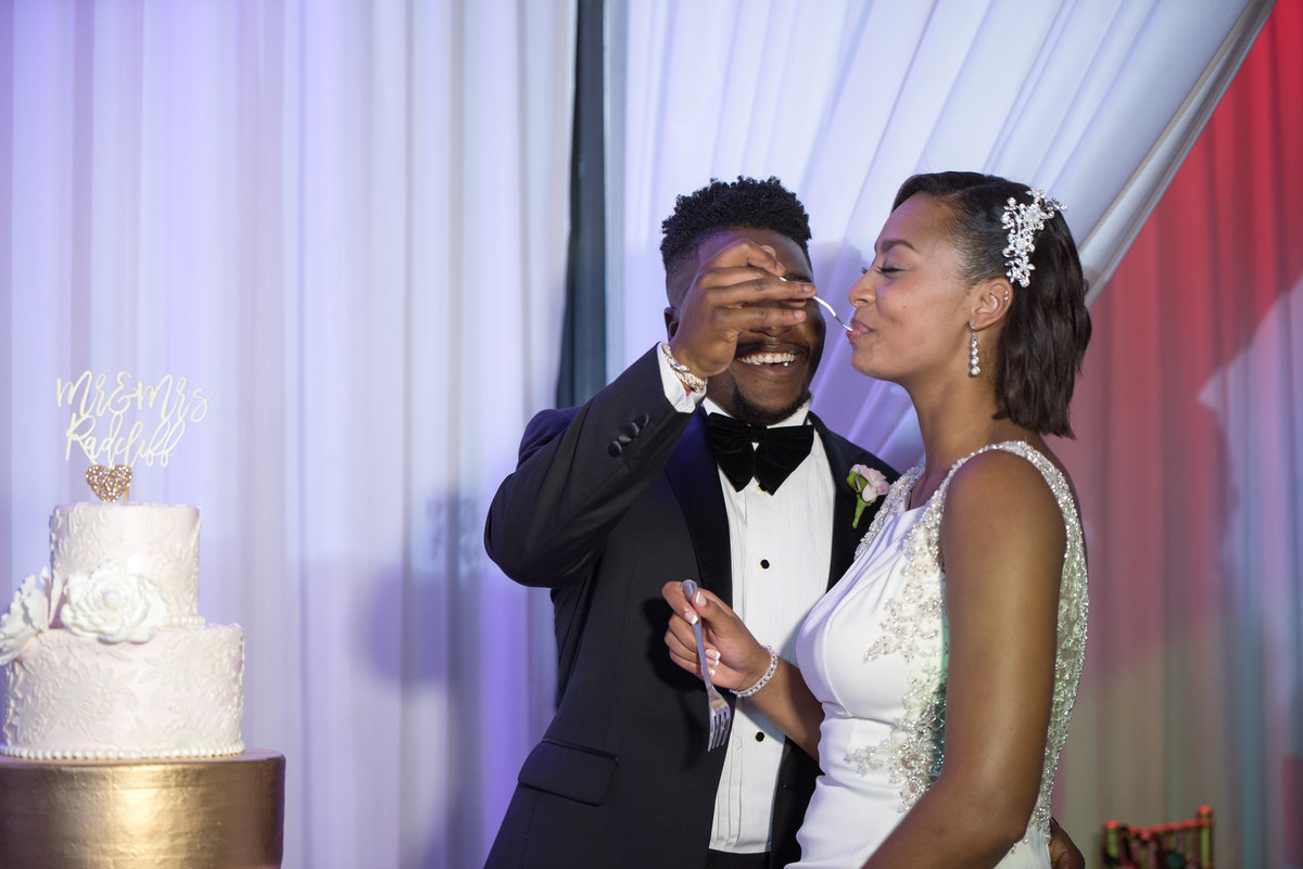 NFL Miami Dolphins Brandon Radcliff ShaKyra Radcliff Briza on the Bay Wedding Andrea Arostegui Photography-285