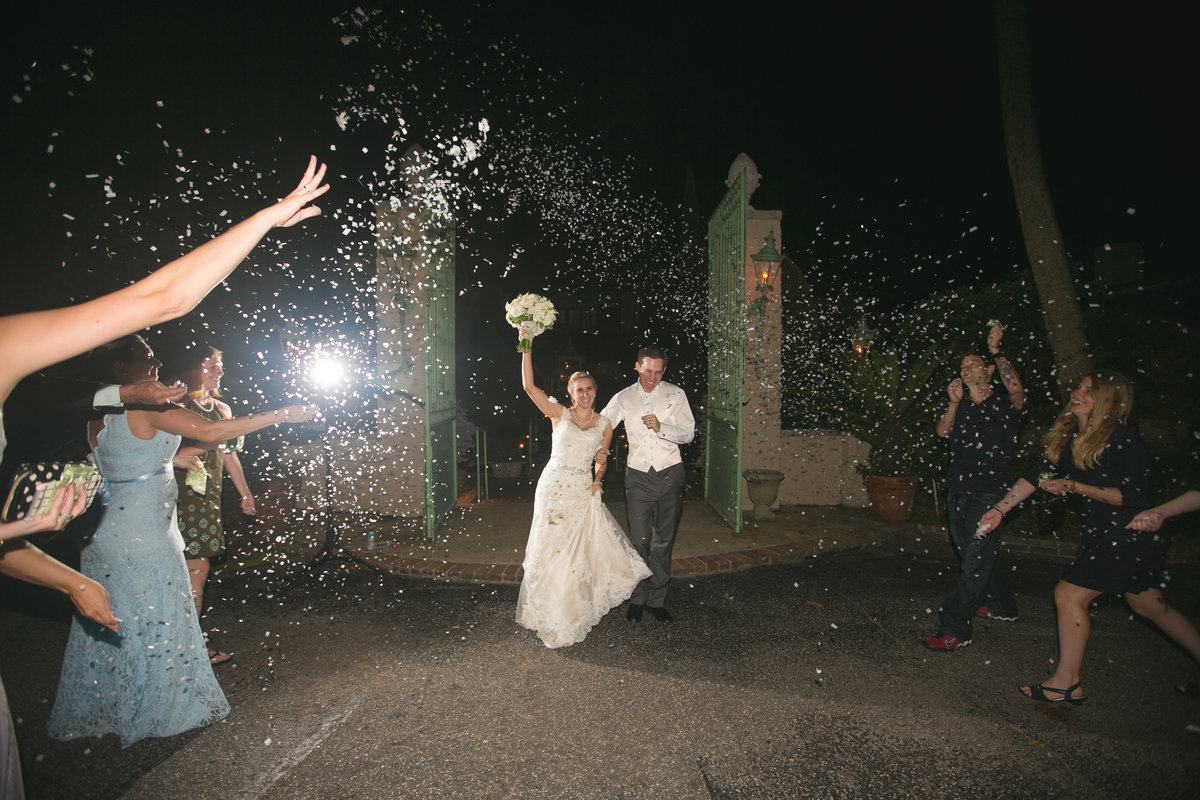 Continental-Club-Wedding-Bride-and-Groom-exit