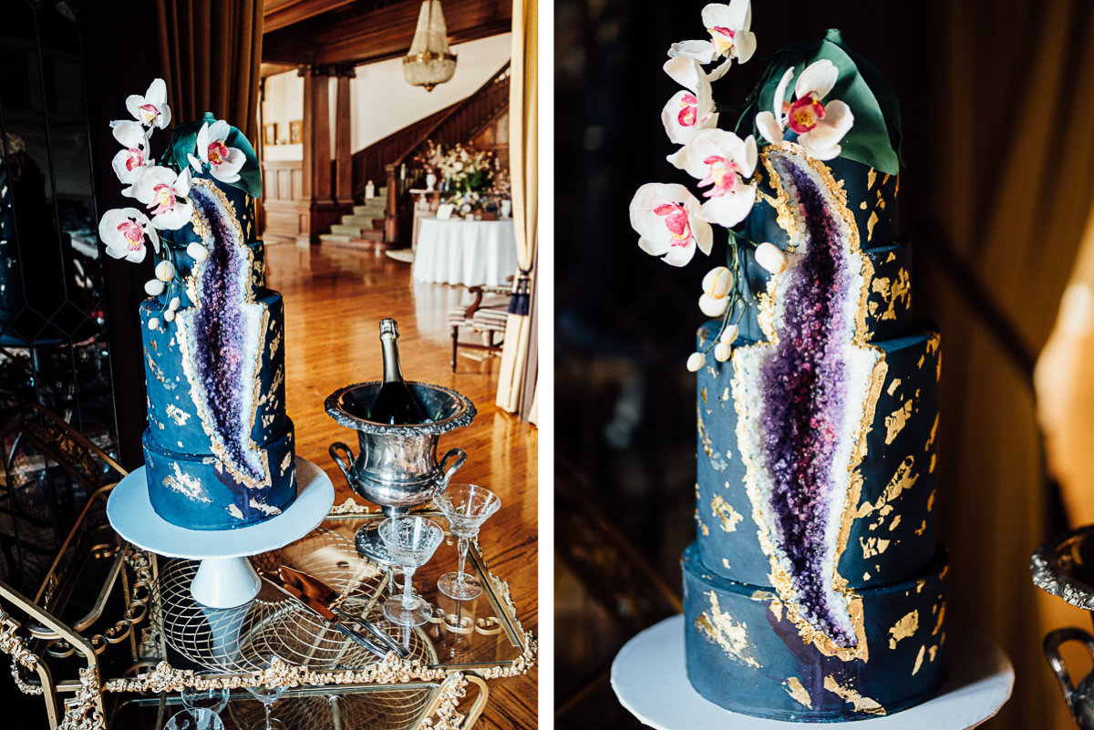 blue-purple-geode-wedding-cake