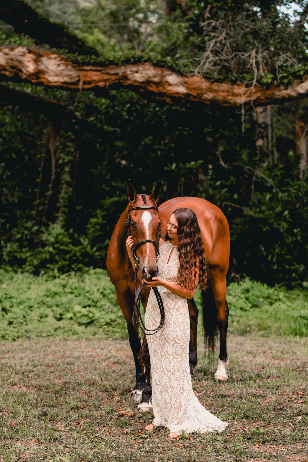 North Florida equine photographer with lifestyle and casual style.