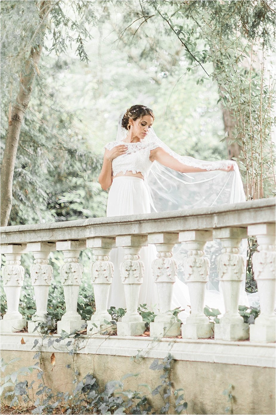 Outdoor Atlanta Bridal Portrait Photography Cator Woolford