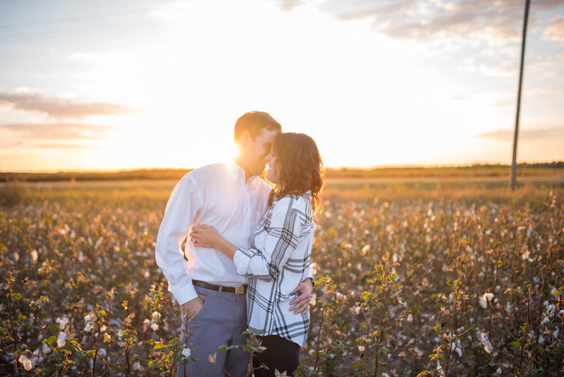 Sunset Engagement Session by Georgia Wedding Photographer Eliza Morrill-31