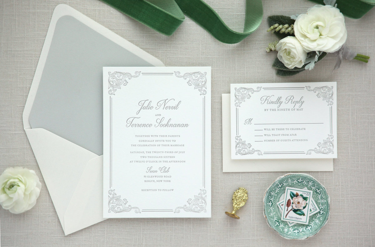 Letterpress-Wedding-Invitation-elegant-gray-classic