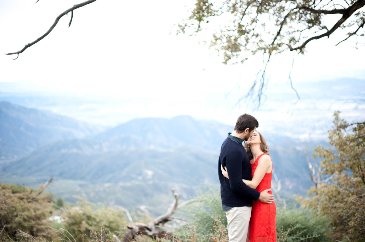 mountain wedding photographer in lake arrowhead