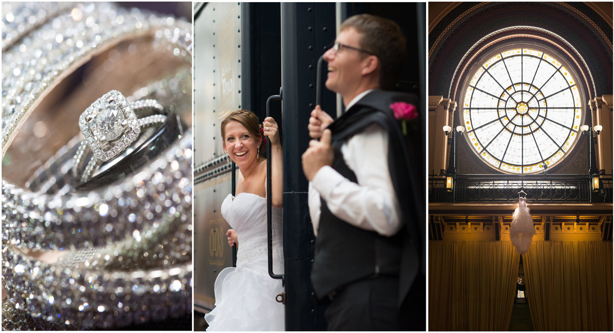 Union Station Indy Wedding Photography