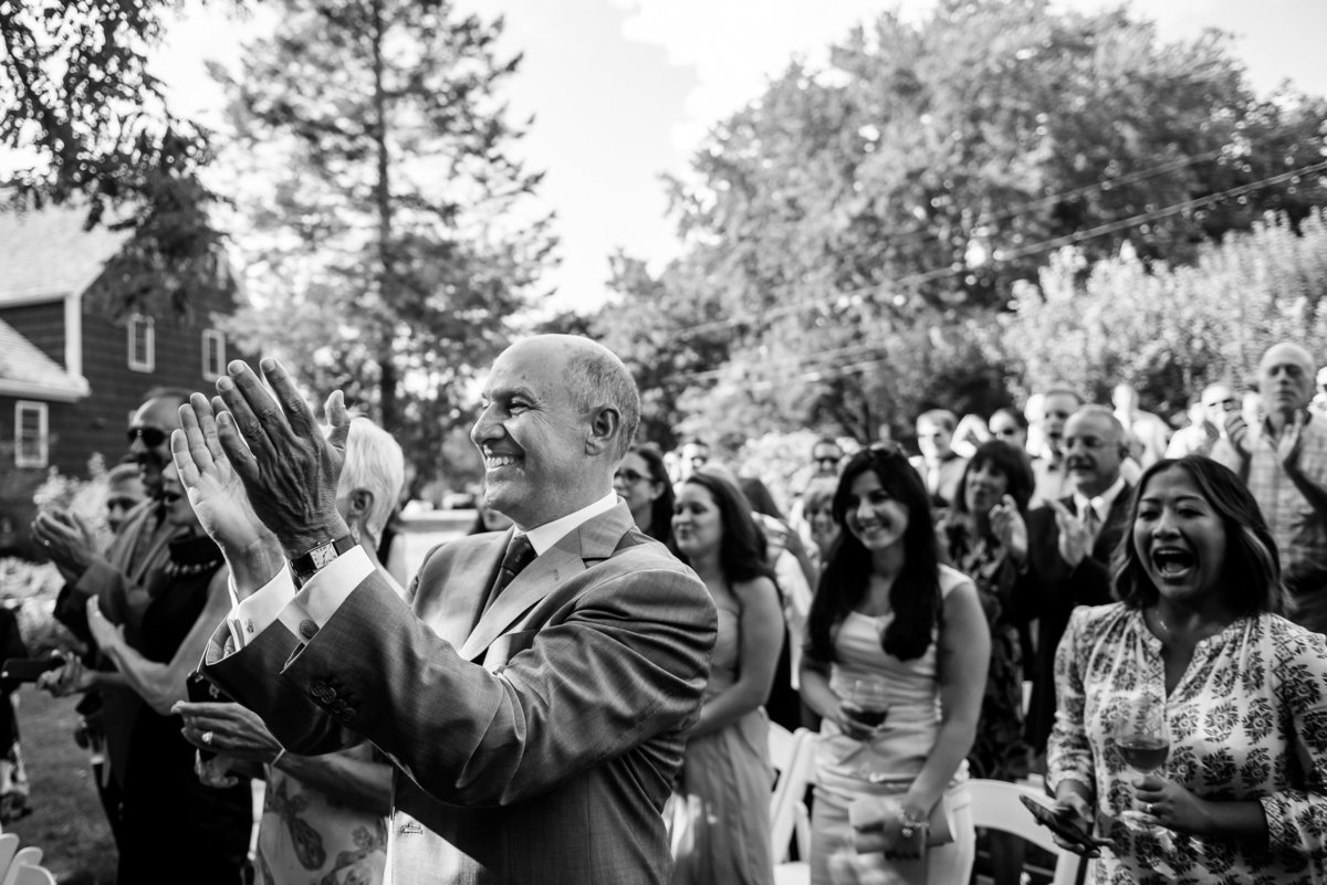 Brooklyn Wedding Photographer | Rob Allen Photography | Destination Wedding Photographer at Mt. Sinai New York  celebration after ceremony