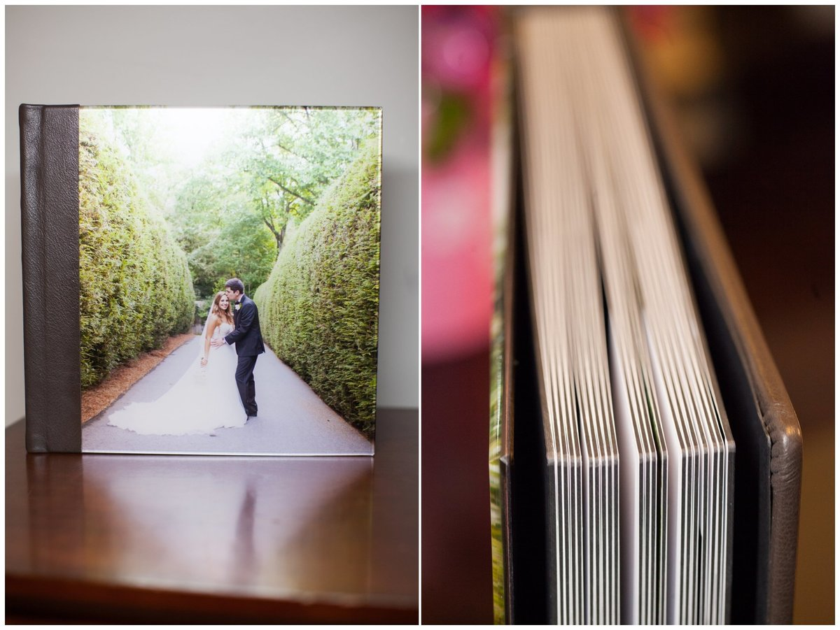 Acrylic Wedding Albums