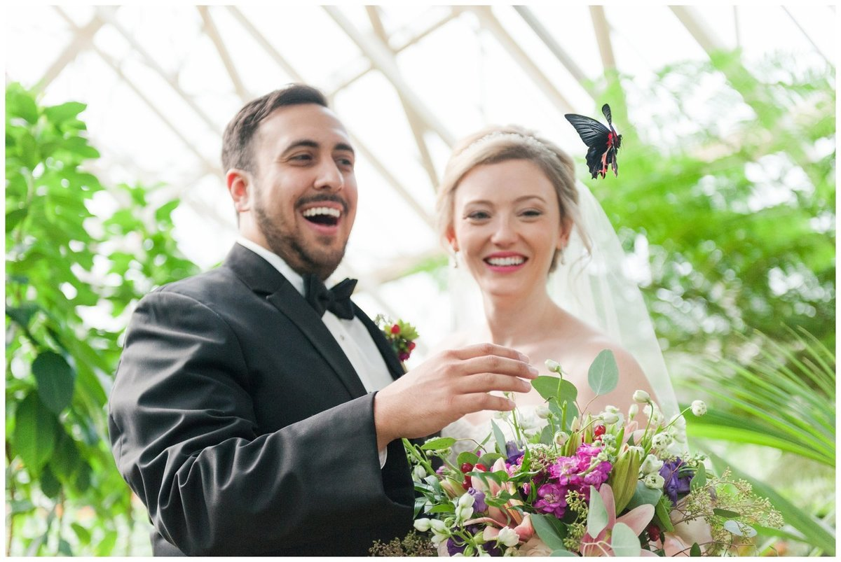Franklin Park Conservatory Wedding The Palm House Bridal Garden Grove_0016