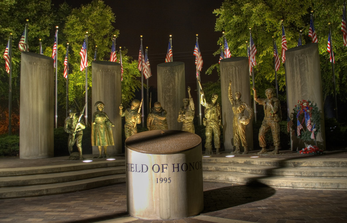 Field of Honor memorial in Loves Park Illinois