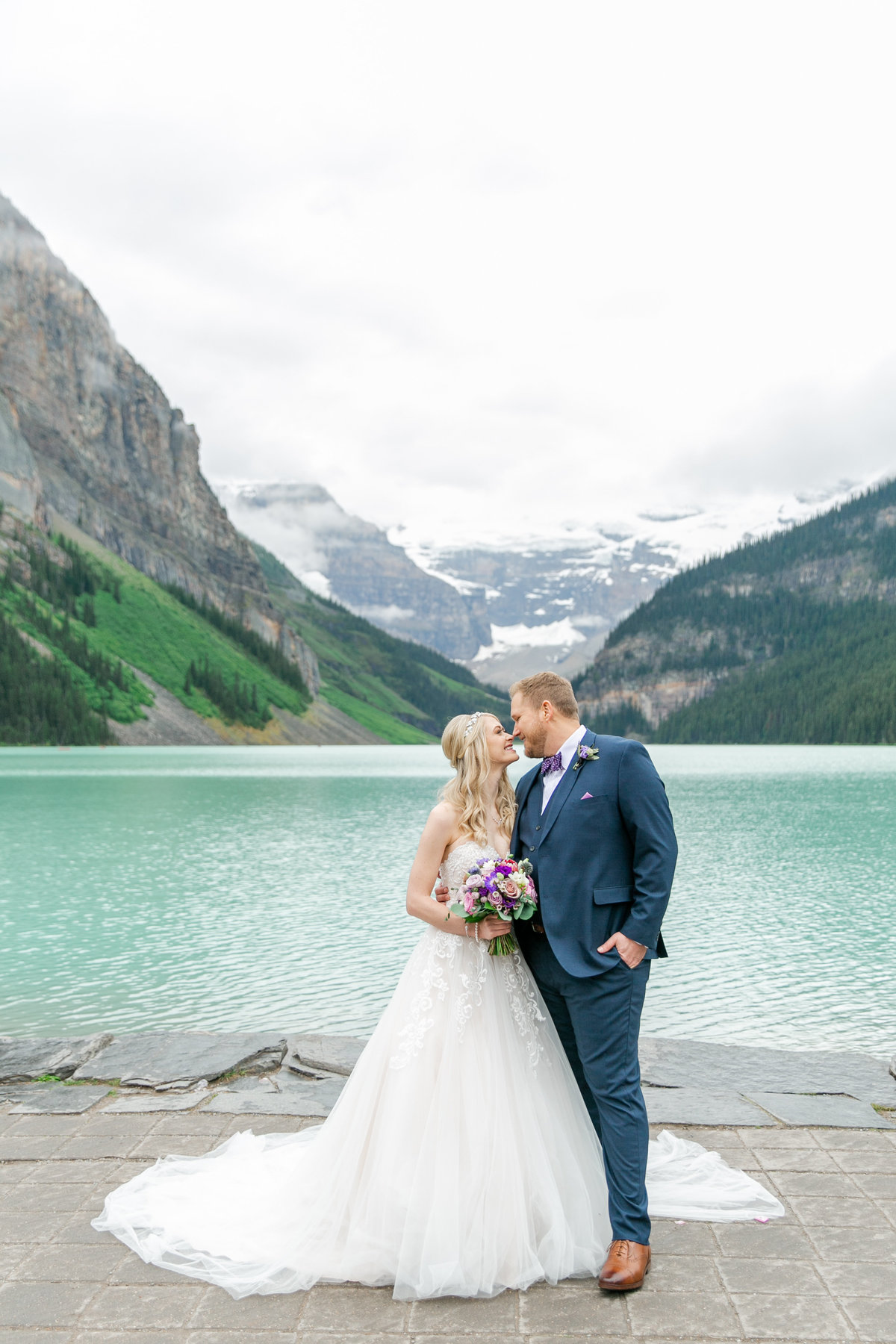 Karlie Colleen Photography - Fairmont Chateau Lake Louise Wedding - Banff Canada - Sara & Drew Forsberg-422
