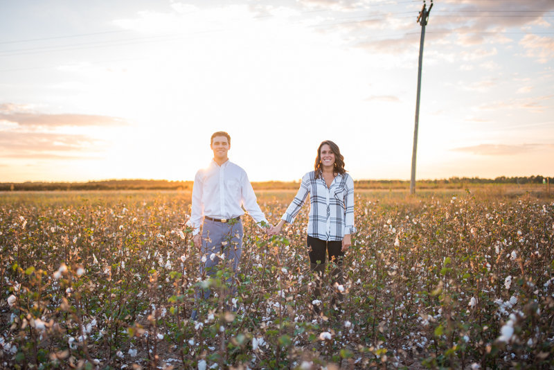 Sunset Engagement Session by Georgia Wedding Photographer Eliza Morrill-34