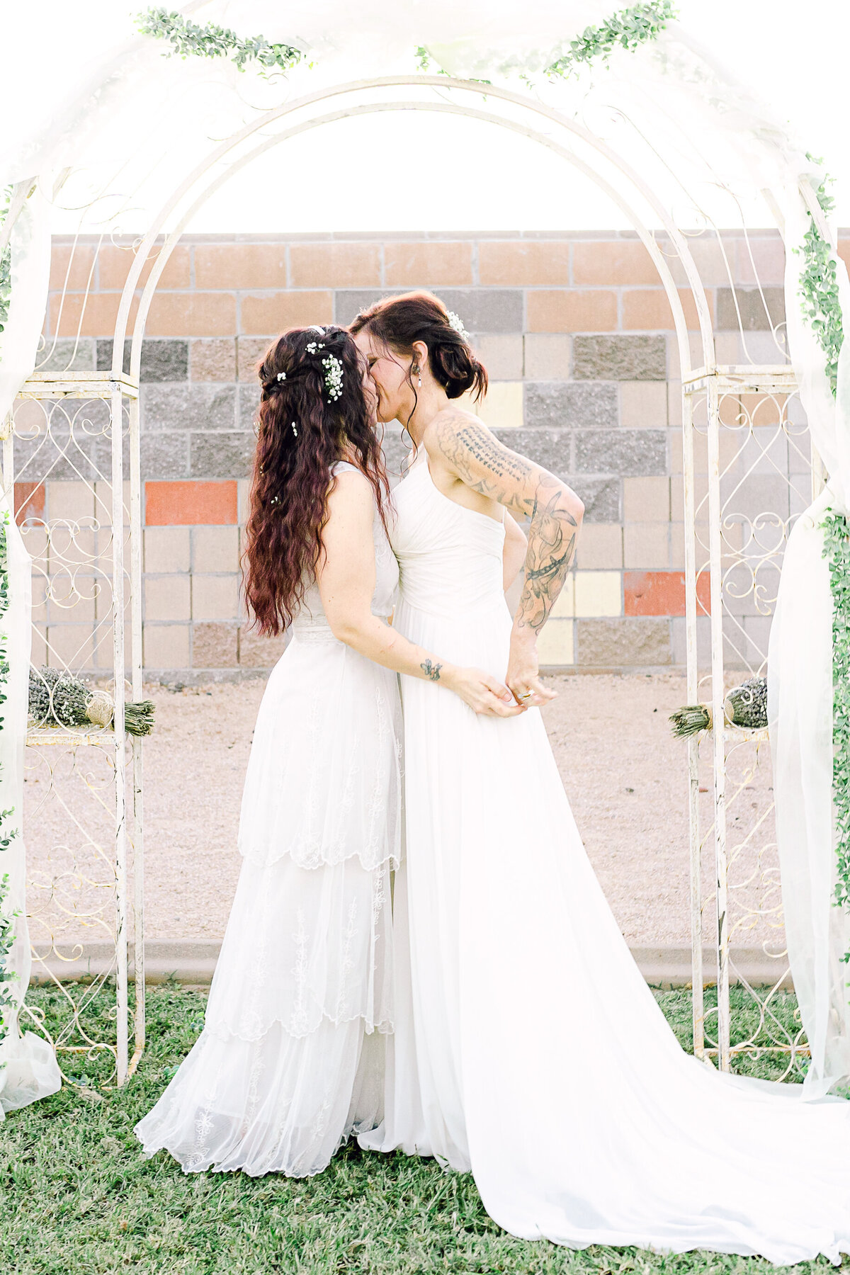 Lesbian Wedding - Phoenix Wedding Photographer - Atlas Rose Photography AZ01