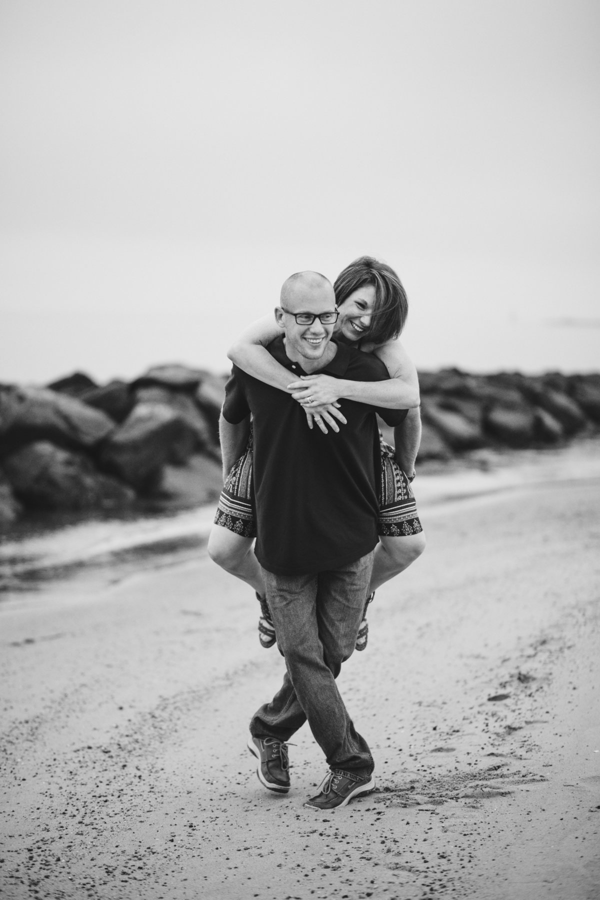 Schacht East Beach Norfolk VA Cloudy Married Anniversary Couples Photos Andrew & Tianna Photography-60