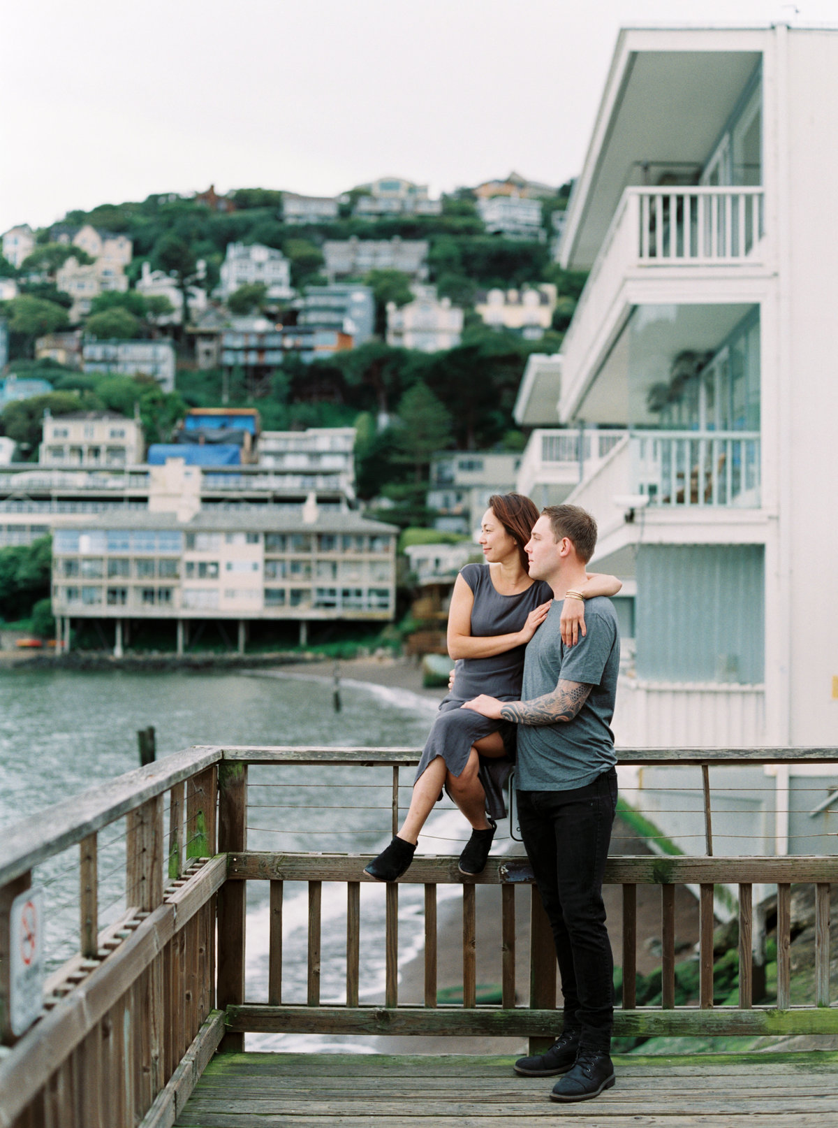 Sachi Sausalito Couples At-Home Lifestyle Session 084