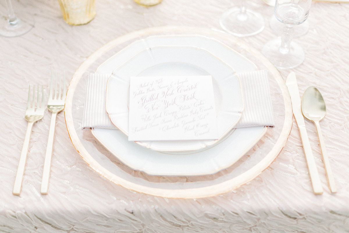 French Inspired Table Setting