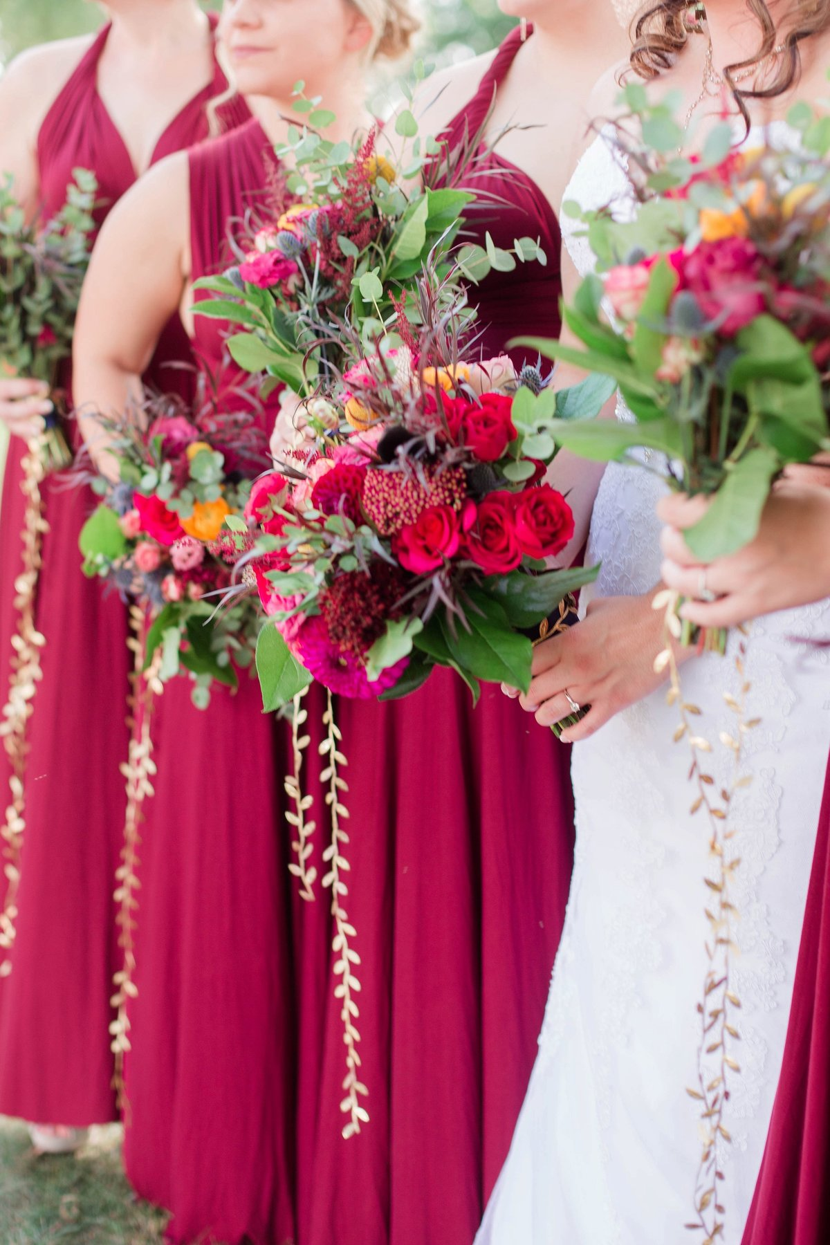 Burgundy Nazareth Hall Fall Wedding by Toledo and Detroit Based Wedding Photographers Kent & Stephanie Photography_0743