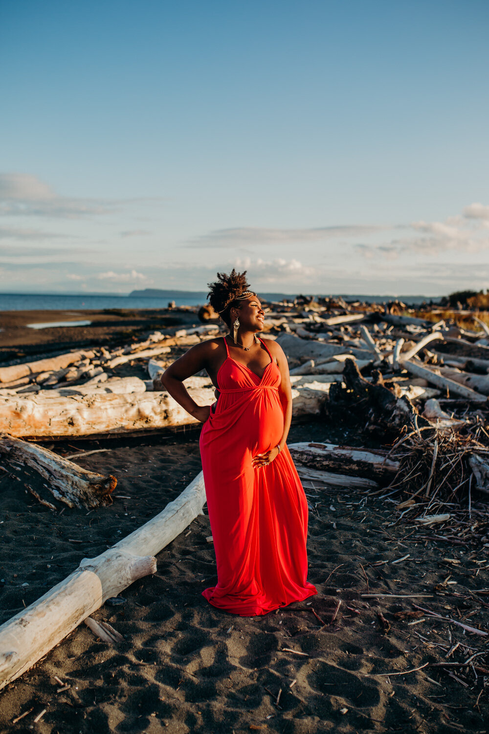 Camano Island Washington Maternity Photography-10