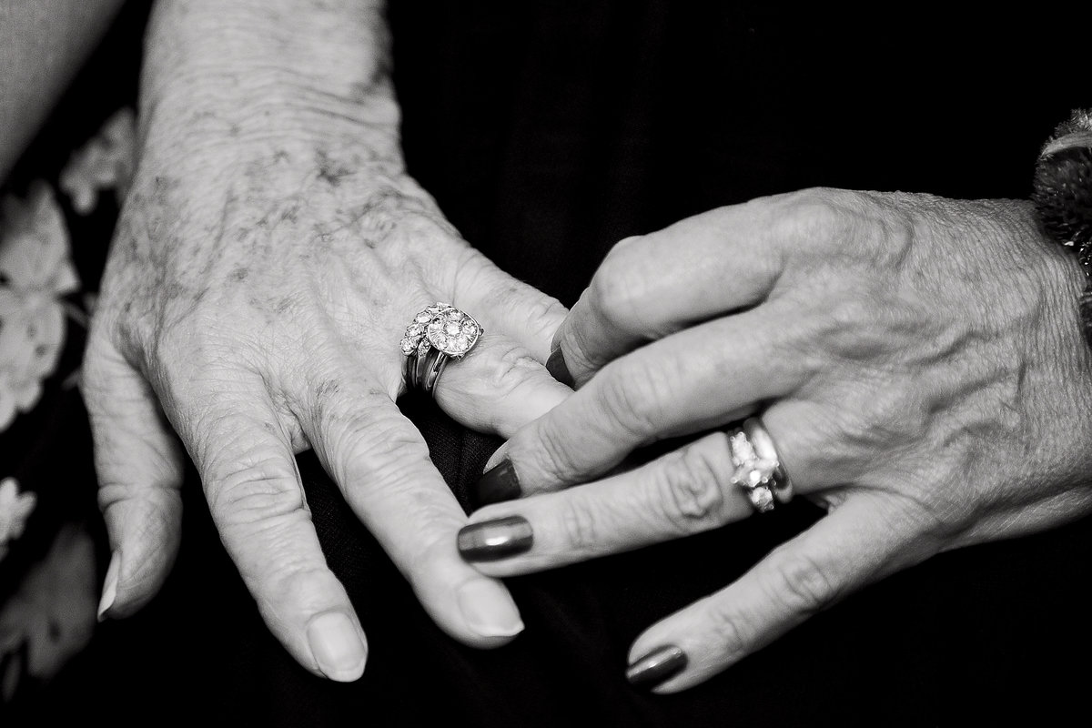 mom and grandmother wedding rings