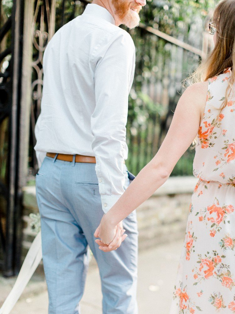 Rebekah Emily Photography Charleston Wedding Photographer Downtown Charleston Engagement Session_0018