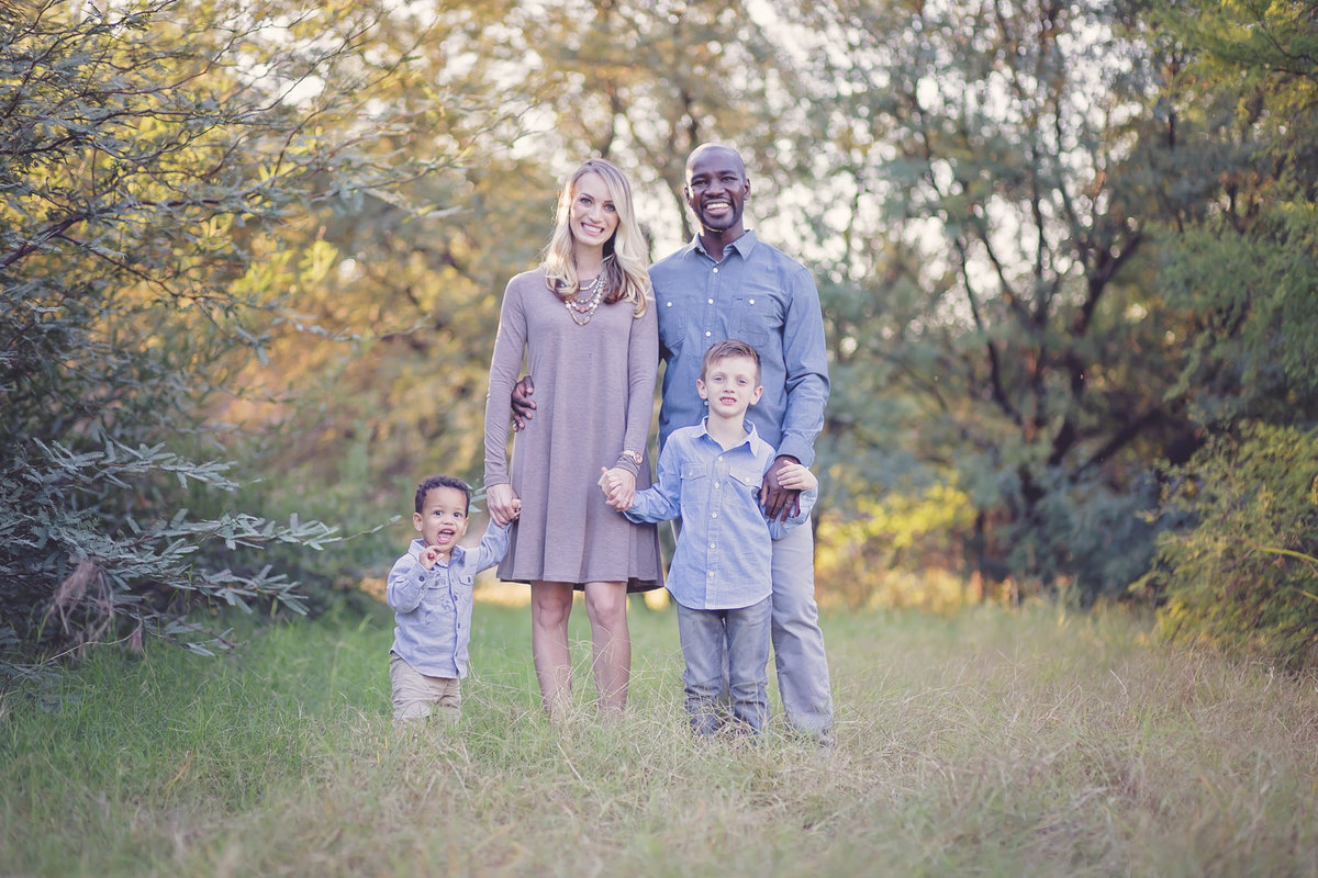 fine art family portrait by Plume Designs & Photography in Scottsdale Arizona
