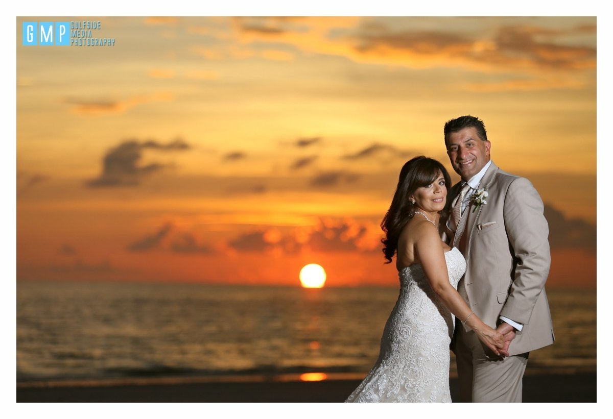 Naples Hilton Beach Weddings