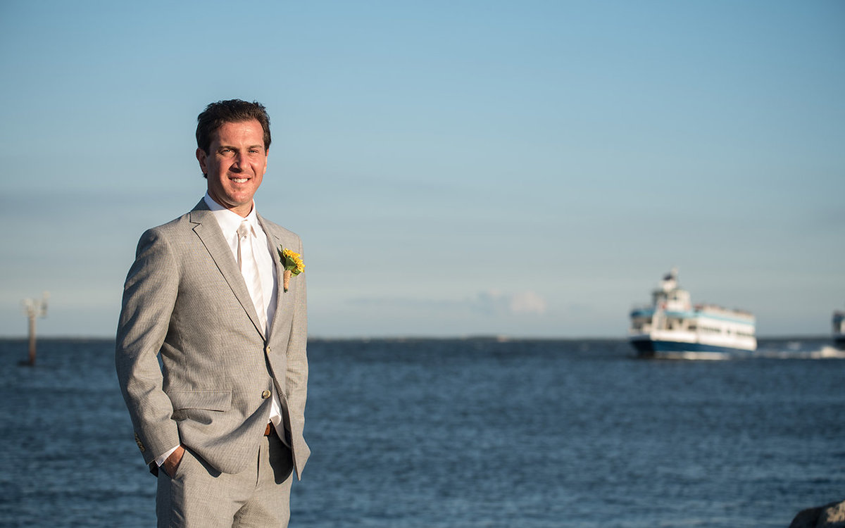 Groom - Lands End, New York - Imagine Studios Photography - Wedding Photographer