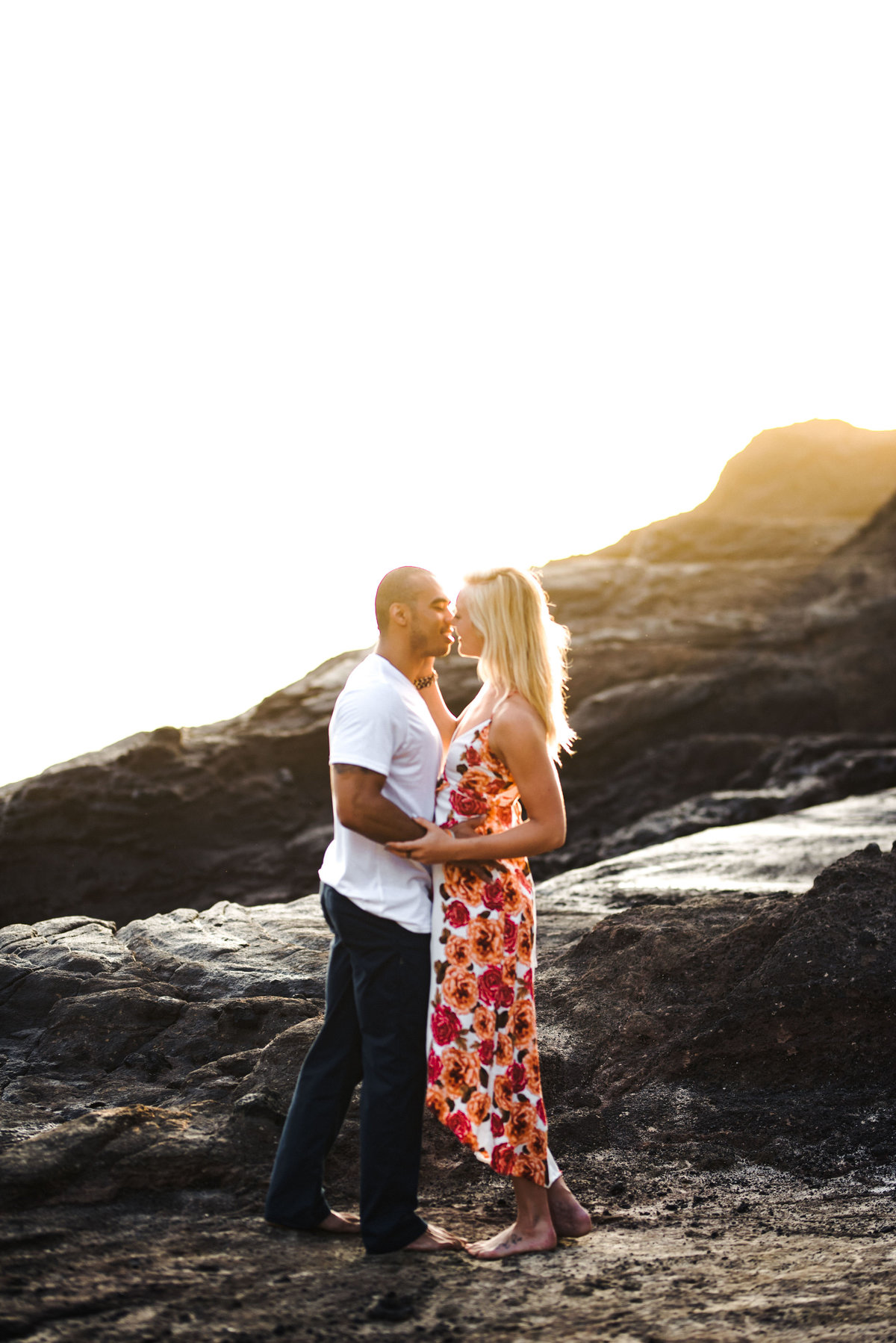 Eternity Beach Honolulu Hawaii Destination Engagement Session - 8