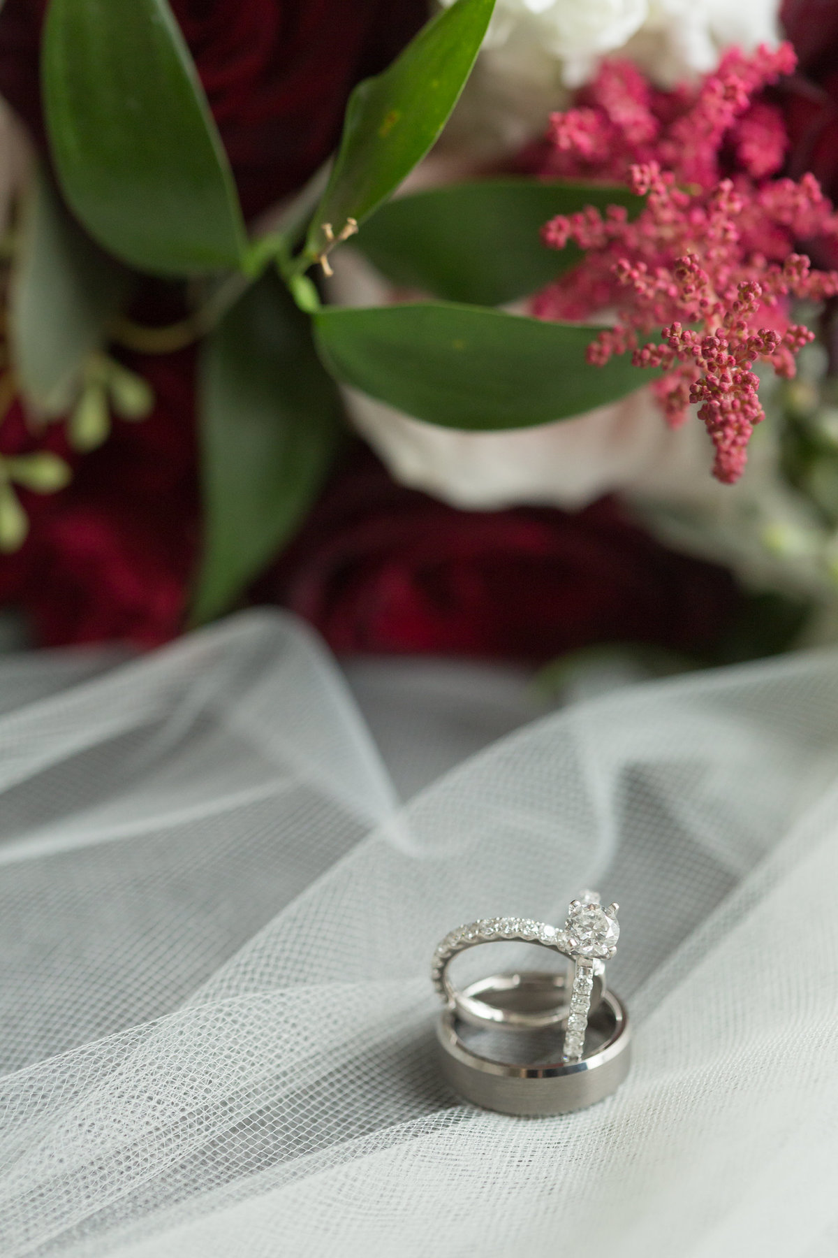 St. Louis Wedding Photographer Ring Shot