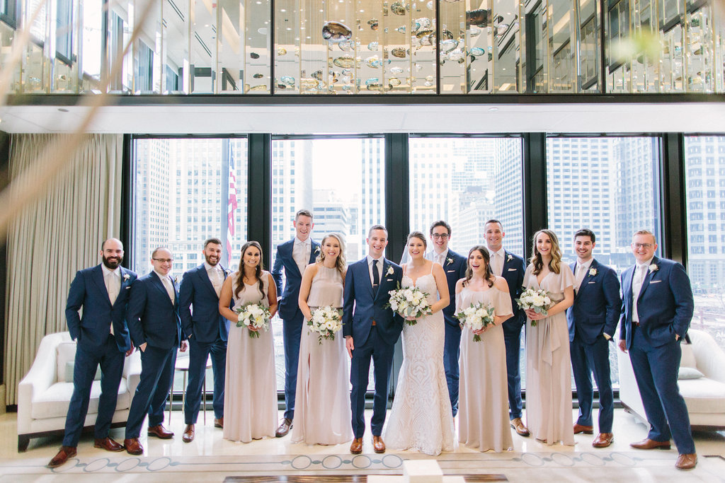 Langham Chicago Wedding_9