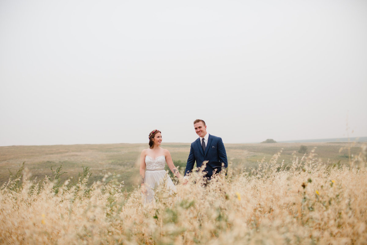 Sherwood Forest Wedding Photos Tall Grass