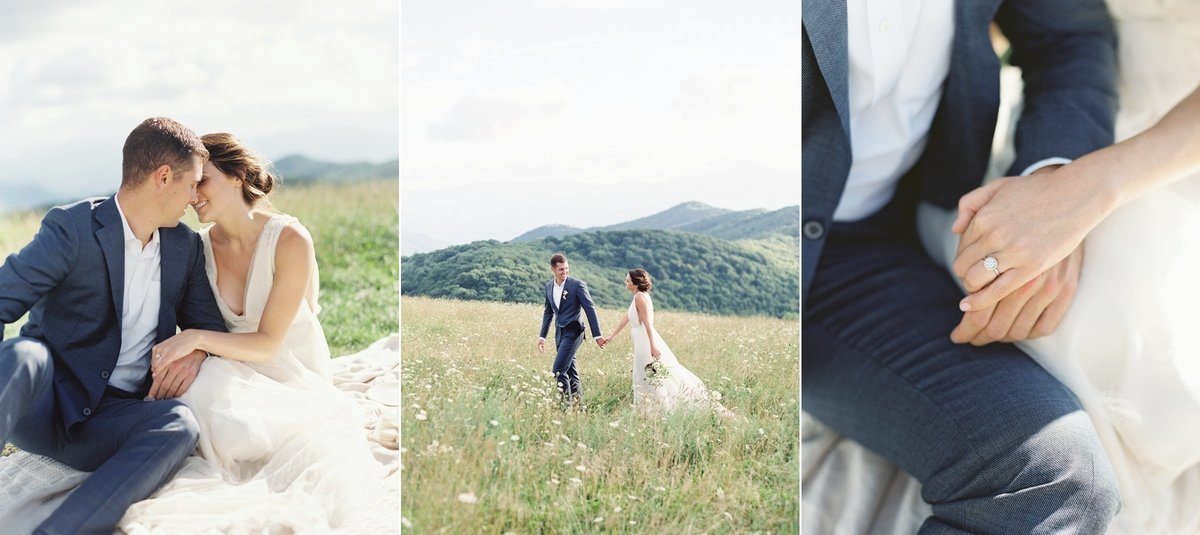 mountain top wedding _max patch_ nortch carolina