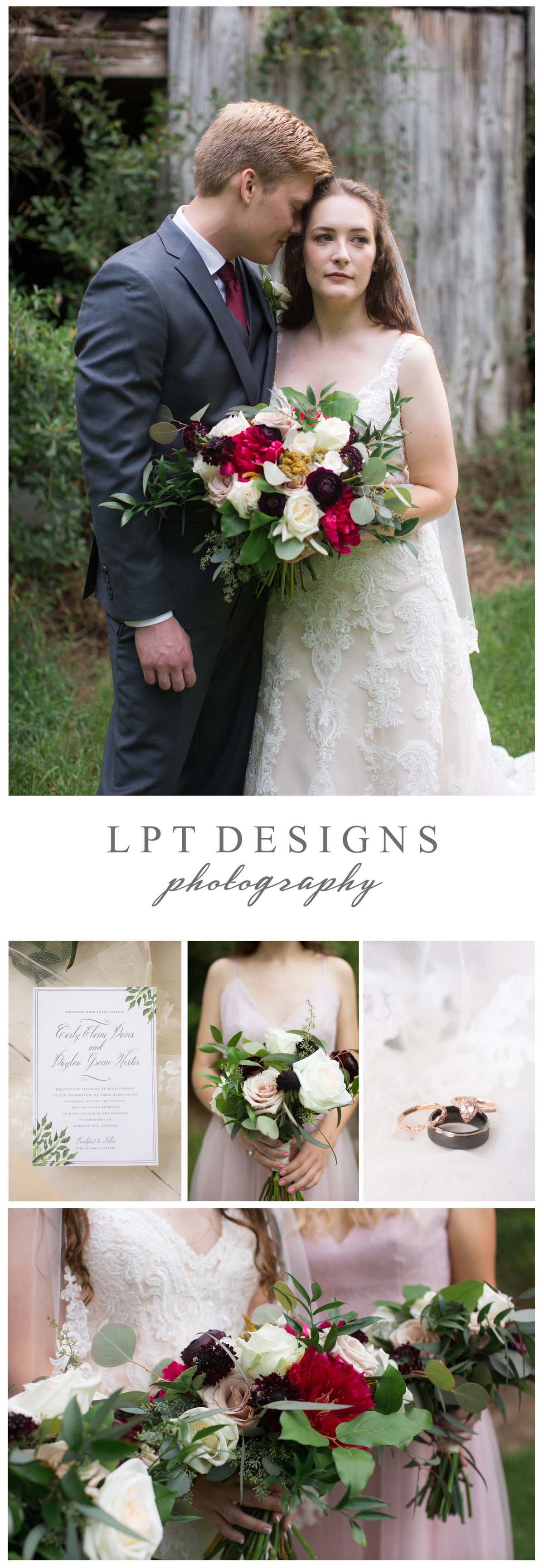 LPT Designs Photography Lydia Thrift Gadsden Alabama Fine Art Wedding Photographer CD 1