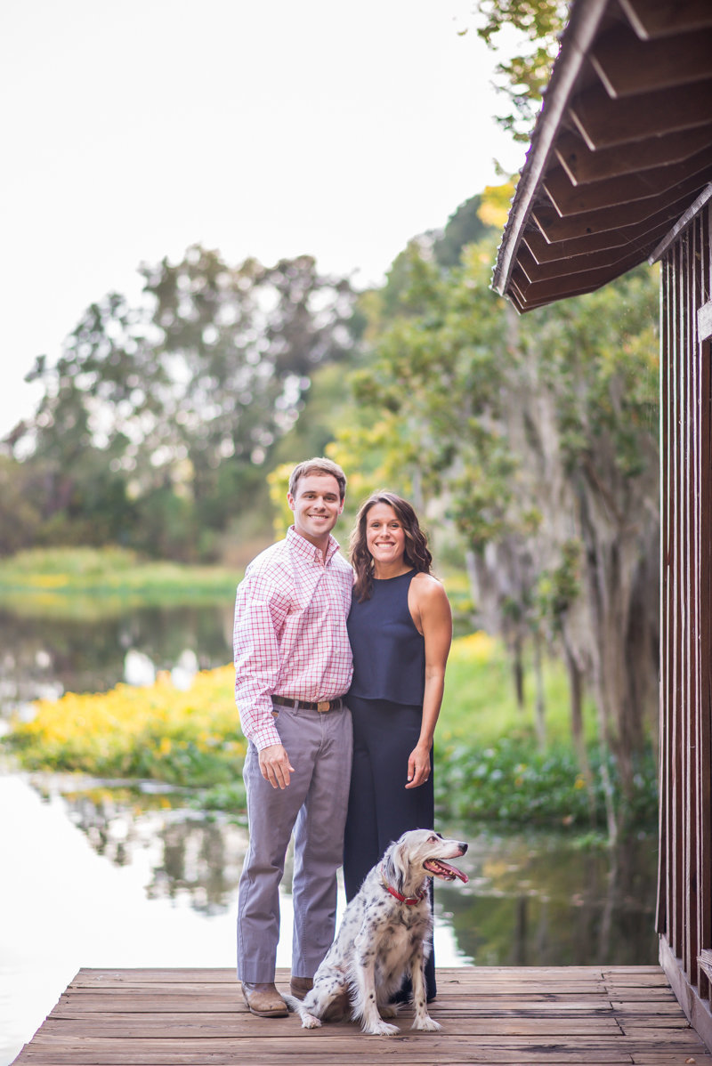 Sunset Engagement Session by Georgia Wedding Photographer Eliza Morrill