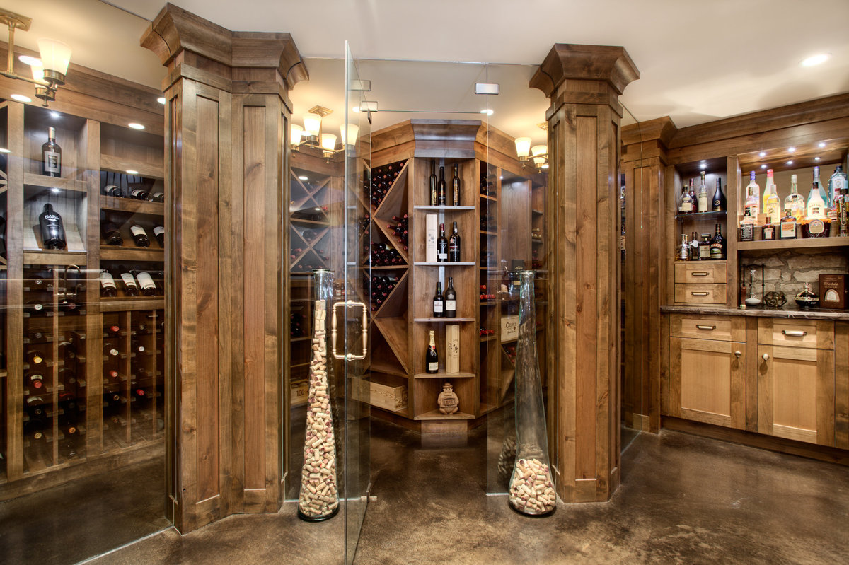 bearspaw-custom-home-wine-room
