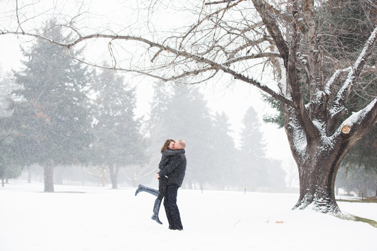 wenatchee golf and country club winter engagment
