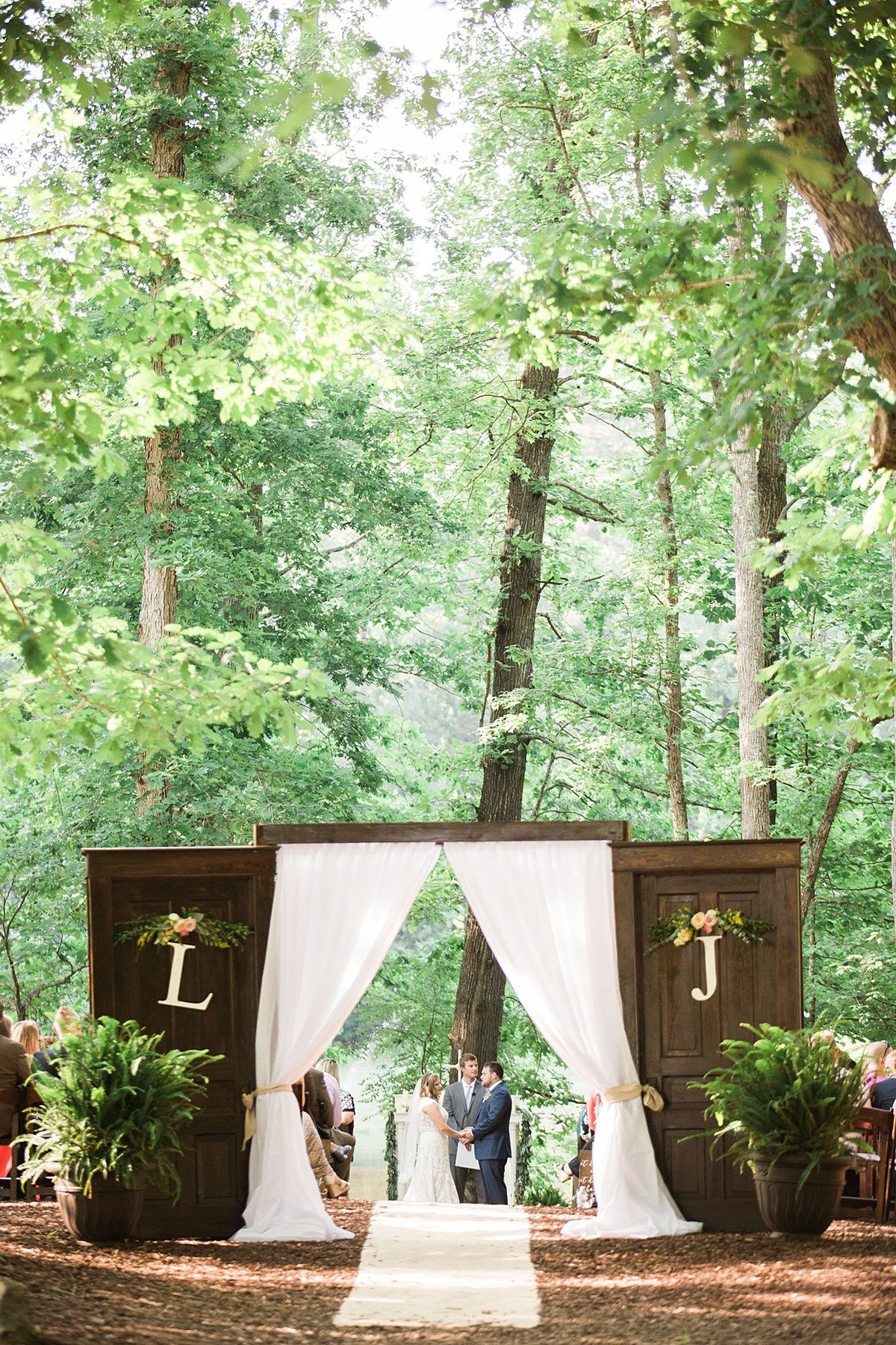 L & J Chapel in the Woods Raleigh NC Rustic Vintage Country Wedding Andrew & Tianna Photography-463