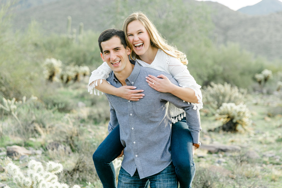 Karlie Colleen Photography - Katherine & Mike Arizona Engagement session- Andaz Wedding-168