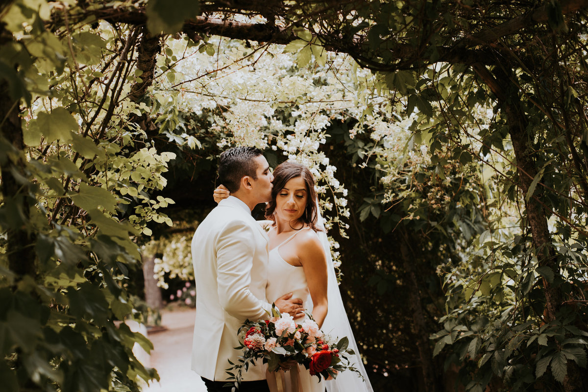 Veronica + Ricky - Los Poblanos Wedding Bride and Groom The Knot El Paso Life In Tandem Wedding Photography-88