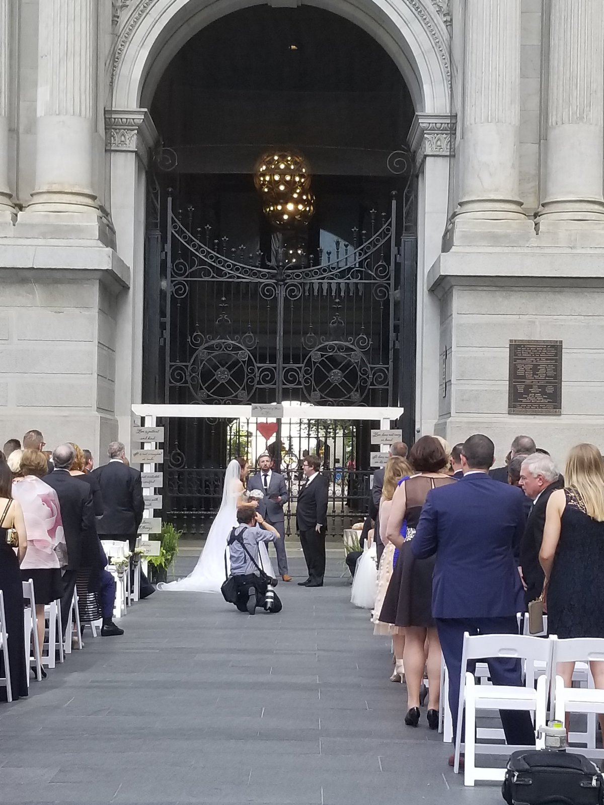 By Brittany Branson Live Wedding Painting Philadelphia City Hall Pennsylvania