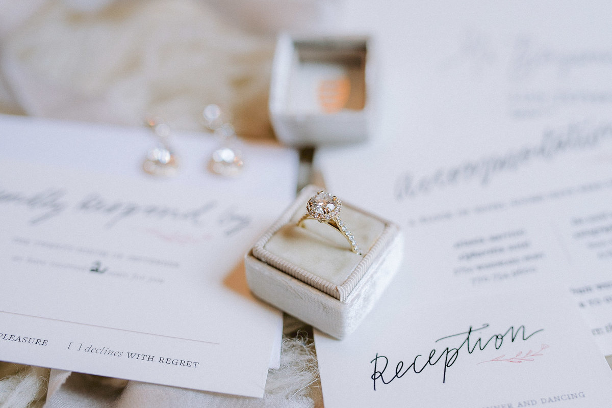 engagement ring details