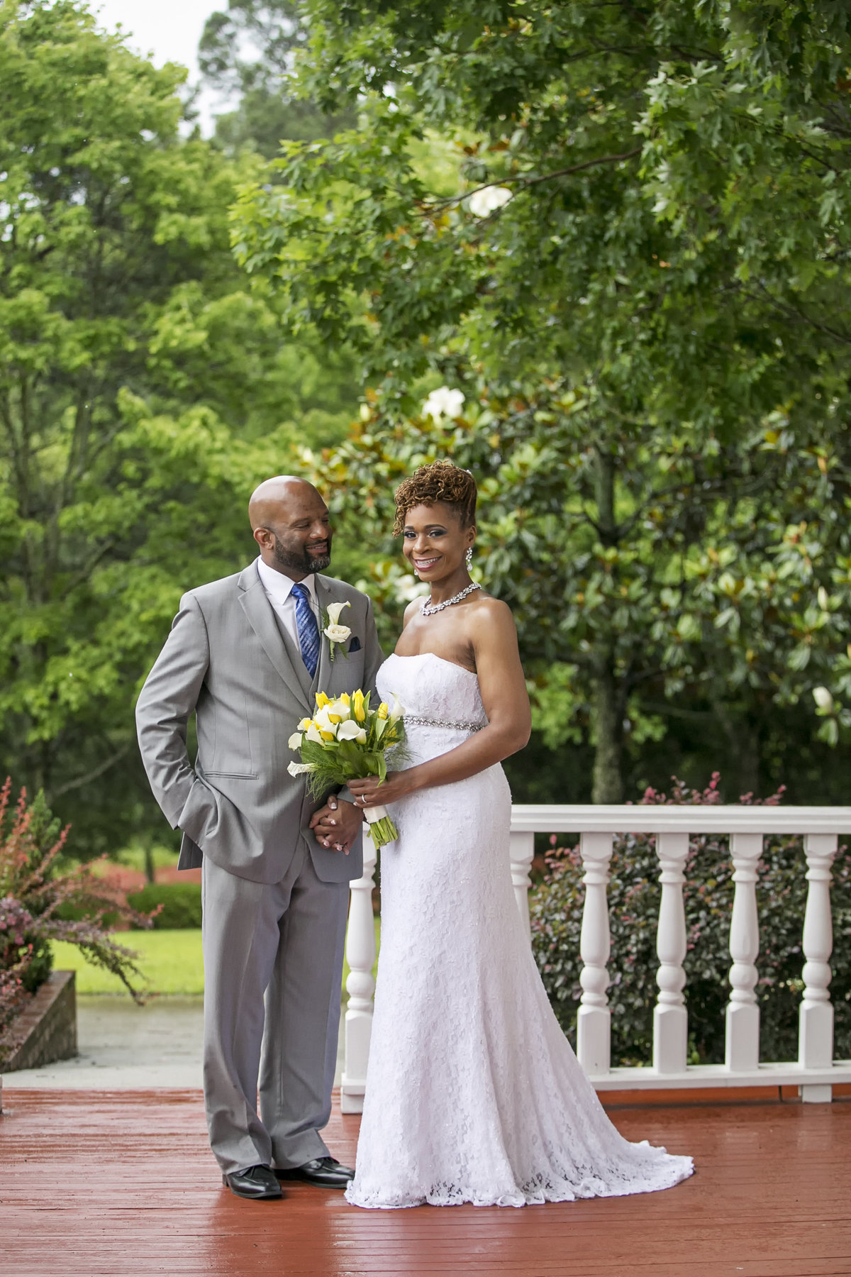 Raleigh Wedding at Gardens at Millbrook