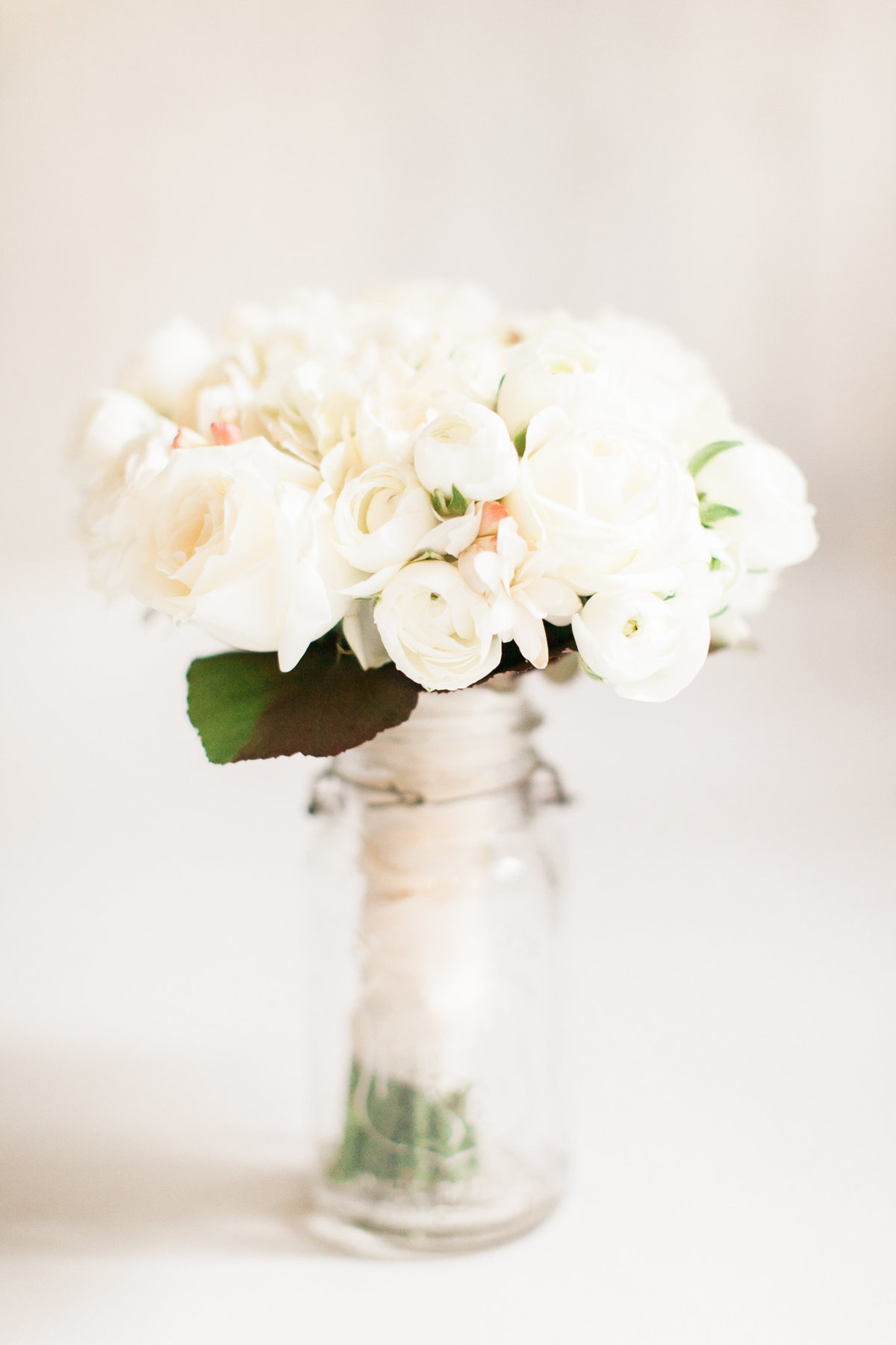 Ivory Rose Bridal Bouquet