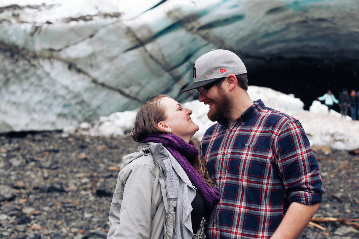 Jake Elisha Big Four Ice Caves Engagement-9