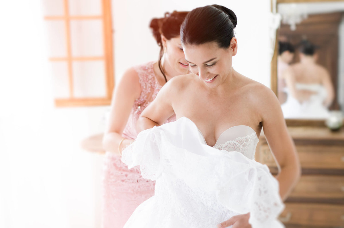 Bride Preparations - Provence Wedding