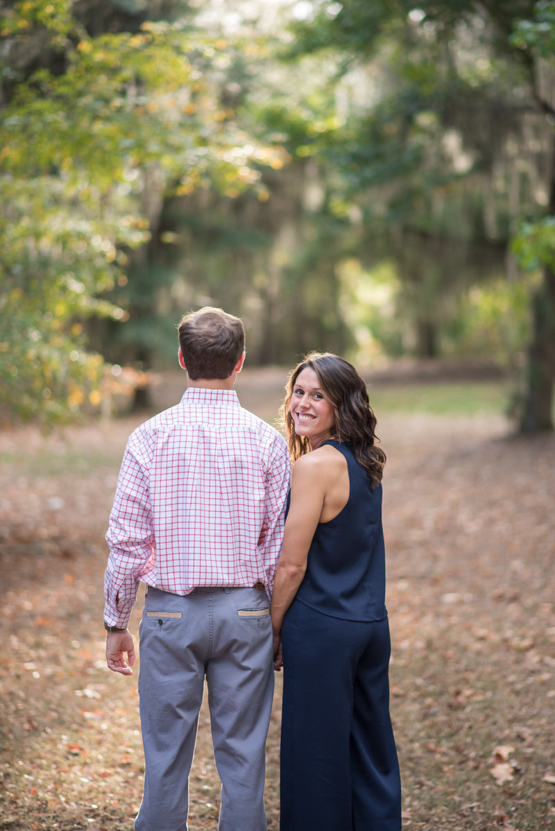 Sunset Engagement Session by Georgia Wedding Photographer Eliza Morrill-12