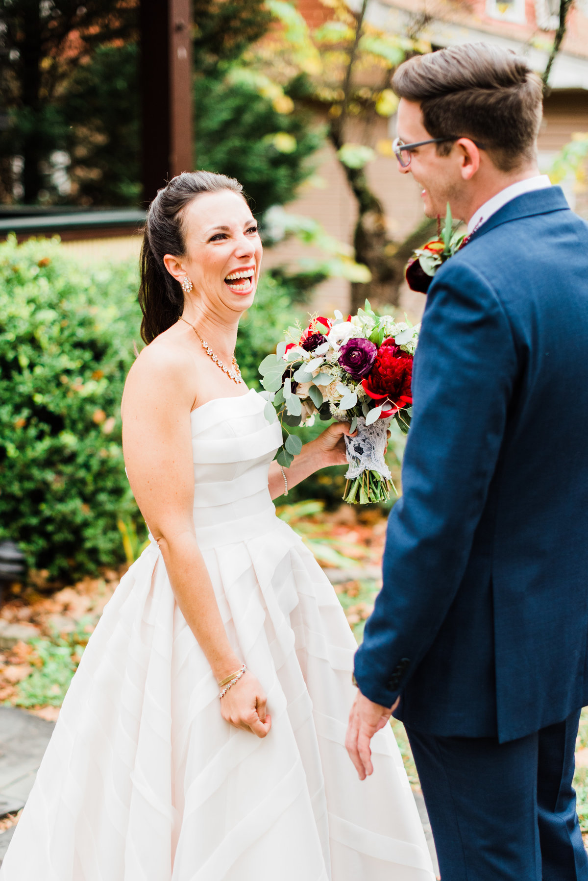 asheville nc carolina bed and breakfast wedding portrait photo