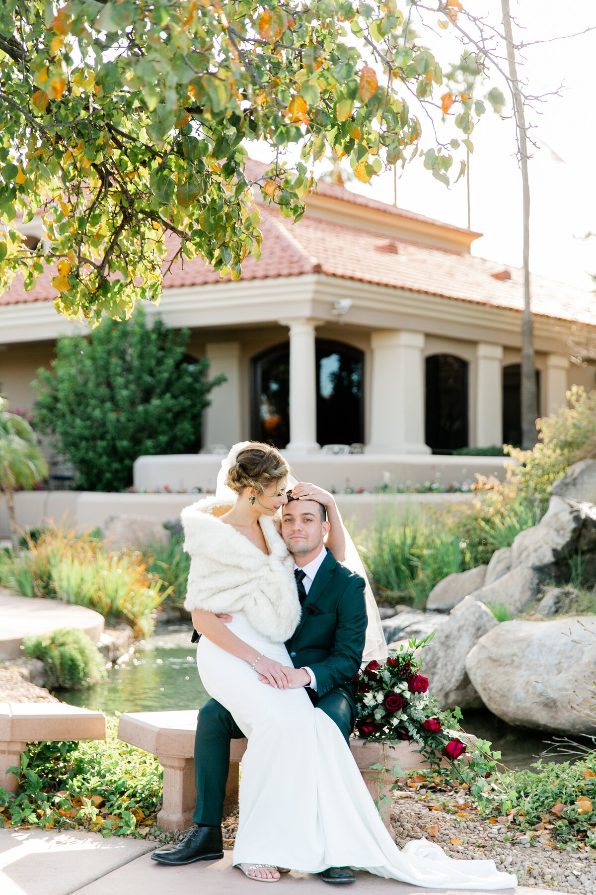 Karlie Colleen Photography - Gilbert Arizona Wedding - Val Vista Lakes - Brynne & Josh-458