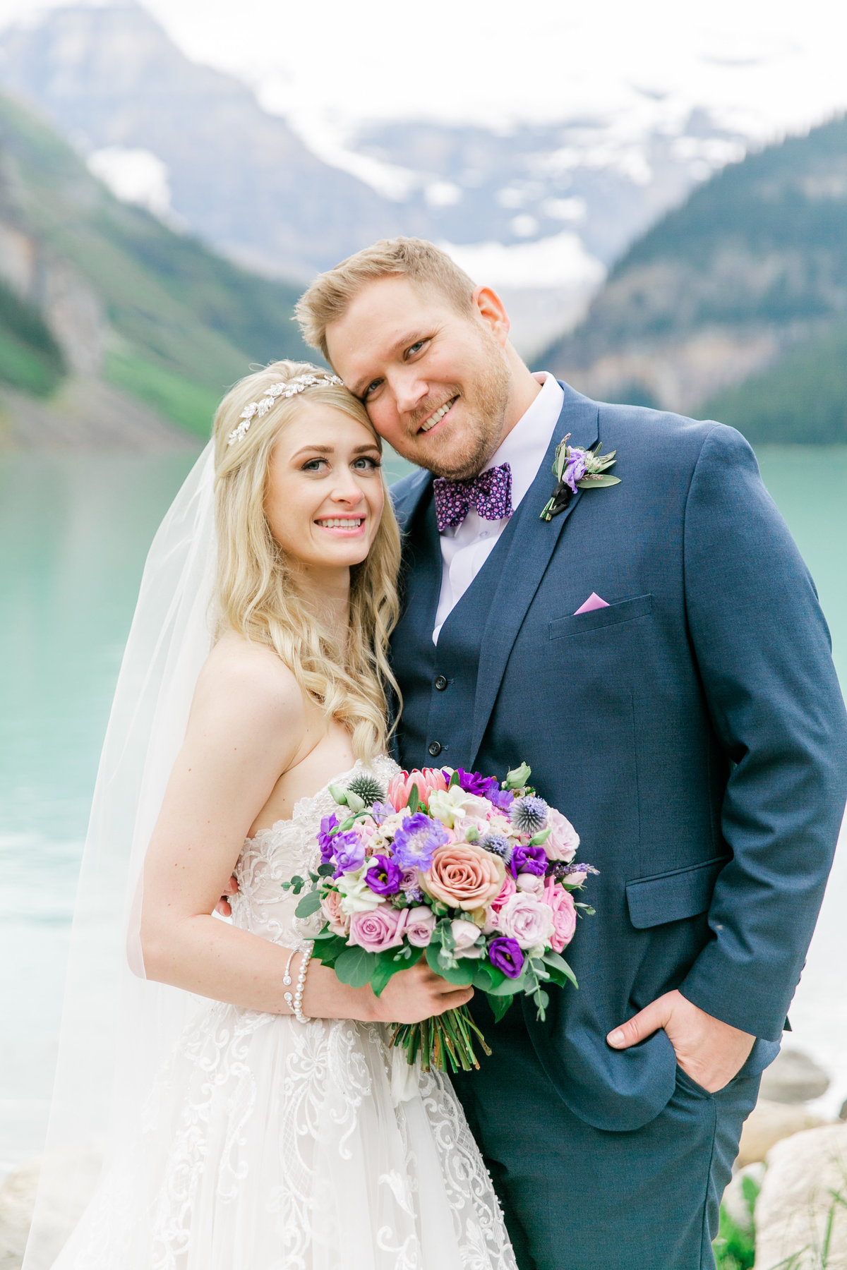 Karlie Colleen Photography - Fairmont Chateau Lake Louise Wedding - Banff Canada - Sara & Drew Forsberg-996